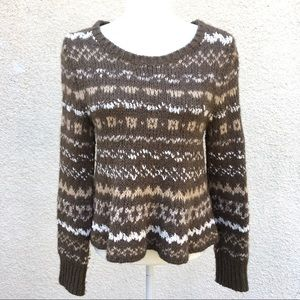 Free People Through the Storm Sweater Pullover
